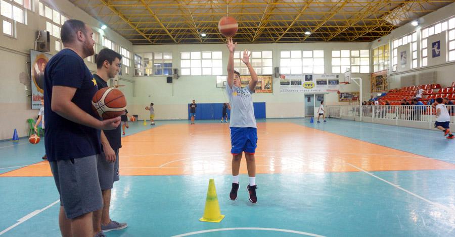 Basketbolda Şut Atma